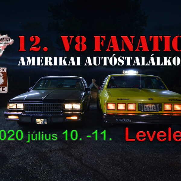 12. V8 Fanatics Levelek 2020 07 10-11